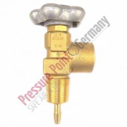 PPG Gasflaschenventil Air 300 bar 25E - G5/8 (Großkonisch)