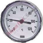 Bimetallthermometer, waagerecht Ø 63/0 - 60°C/40mm; G 1/2