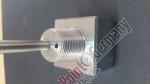 PPG Flaschenanschluss mit Entwässerung 450 bar/ V4A