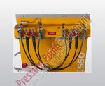 Füllleistenanbau 2 x 200 bar / 2 x 300 bar PE - VE (Schlauchanschluss)