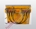 Füllleistenanbau 4 x 200 bar PE - VE (Schlauchanschluss)