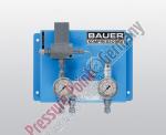 Zuschaltautomatik für gleichzeitiges Befüllen aus Speicher und Kompressor