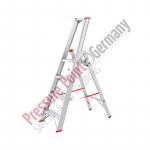 PPG Alu Stufenstehleiter mit Plattform 4 Stufen mit Ablageschale
