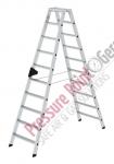 PPG Stufen-Stehleiter beidseitig begehbar 2x10 Stufen
