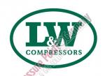 Kompressorrahmen, Material: Aluminium Material: Alloy - coated, silver